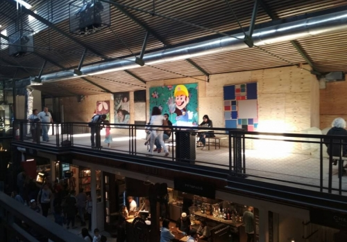 Mercado Ferrando, a new meeting point for chefs, local producers and onlookers.