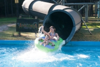 Feel the adrenaline of the water parks